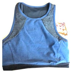 Dark denim Sports Bra